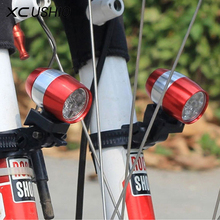 Buy 1Pc Mini Led Bike Front Headlight Aluminium Alloy Cycling Rear Tail Lamp 6 Led 2 Modes Waterproof New 2017 Bicycle Cycling Light for $2.99 in AliExpress store