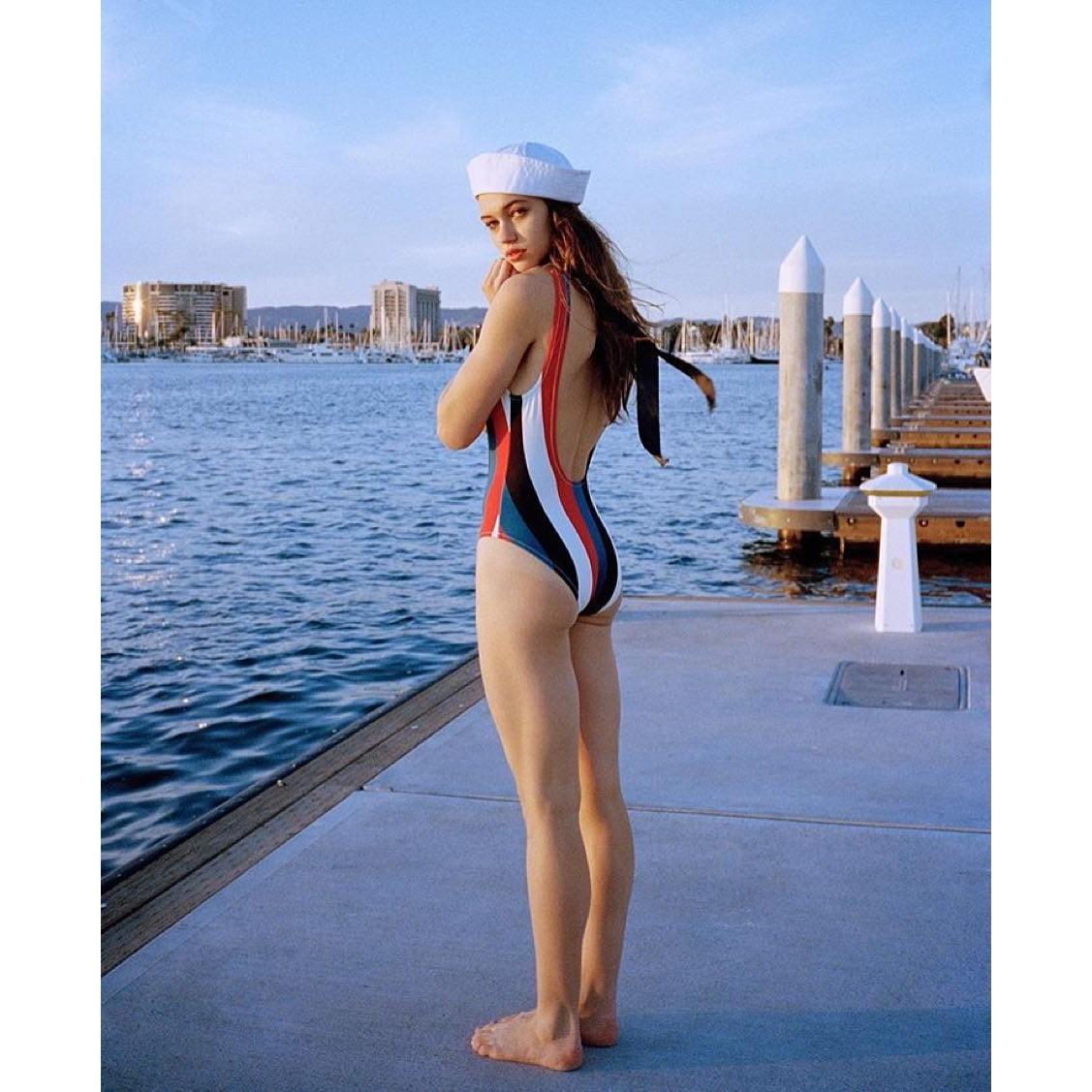 Multicolor One-Piece Suits Swimwear Bikinis Set 11