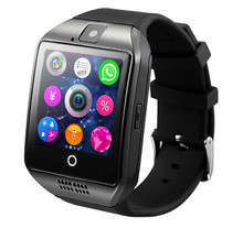 Buy Q18 Bluetooth Watch Passometer Smart watch Touch Screen camera Support TF card Bluetooth smartwatch Android IOS Phone for $13.99 in AliExpress store