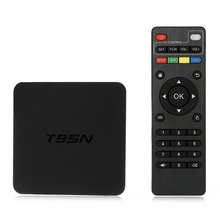 T95N Mini PC Android 5.1 TV Box S905X Quad Core 2.4GHz WiFi HD 2.0 2G 8G Memory Smart Set top Box with USB TF Card Slot