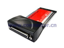 EP-010 54mm Laptop PCMCIA to DB25 DB26 Printer Parallel Interface CardBus Adapter