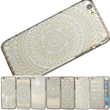 "GREAT PRICE PC Case for iphone 6 6s 4.7"" inch protective shell translucent Ethnic pattern skin back cover"