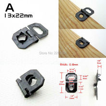 25x Foldable Hinge Self Attach Picture Photo Frame Backboard Barbed Sawtooth Saw Tooth Hanger Hook No need screw Nail Nailless A(China)
