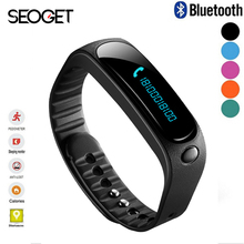 Olcd screen Smart watch Pedometer SMS Call sleep reminder fitness bracelet Bluetooth Smartwatch Android IOS smart band wristband