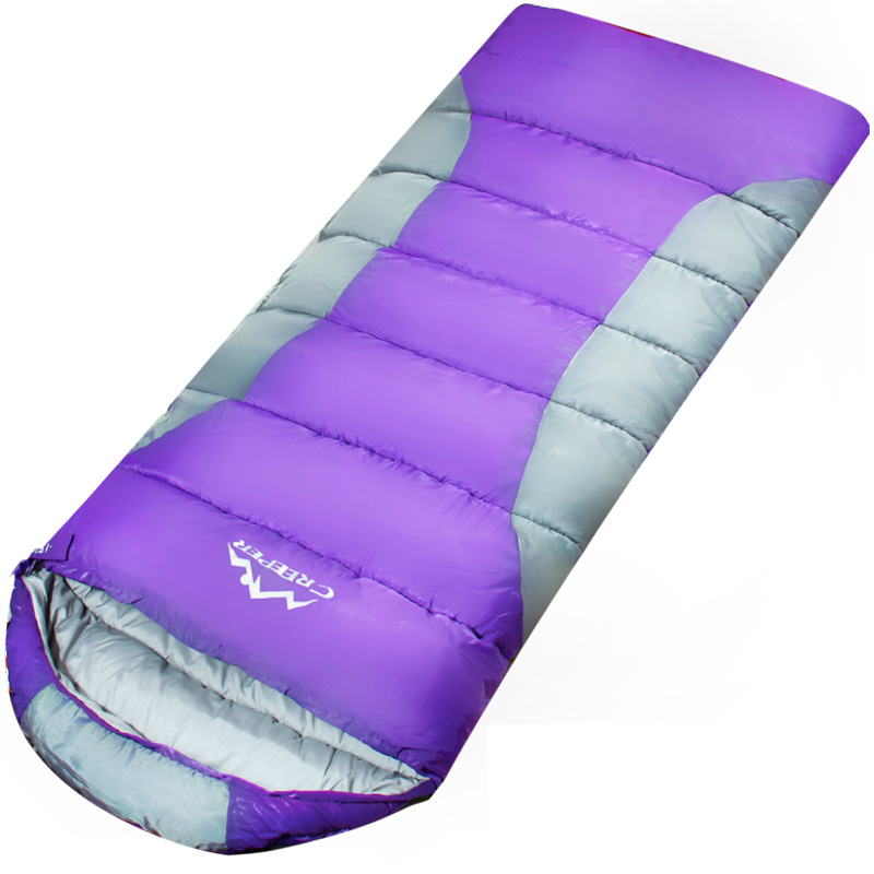 Ultralight Camping Double Sleeping Bag Winter Autumn Envelope Duck Down Single Sleeping Bags Camping Climbing Hiking Warm Bag<br>