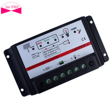 10A 12V/24V Auto Switch MPPT Solar Panel Battery Regulator Charge Controller APJ(China)