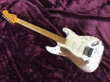 free shipping cost  handwork  RELIC ST electric guitar good job