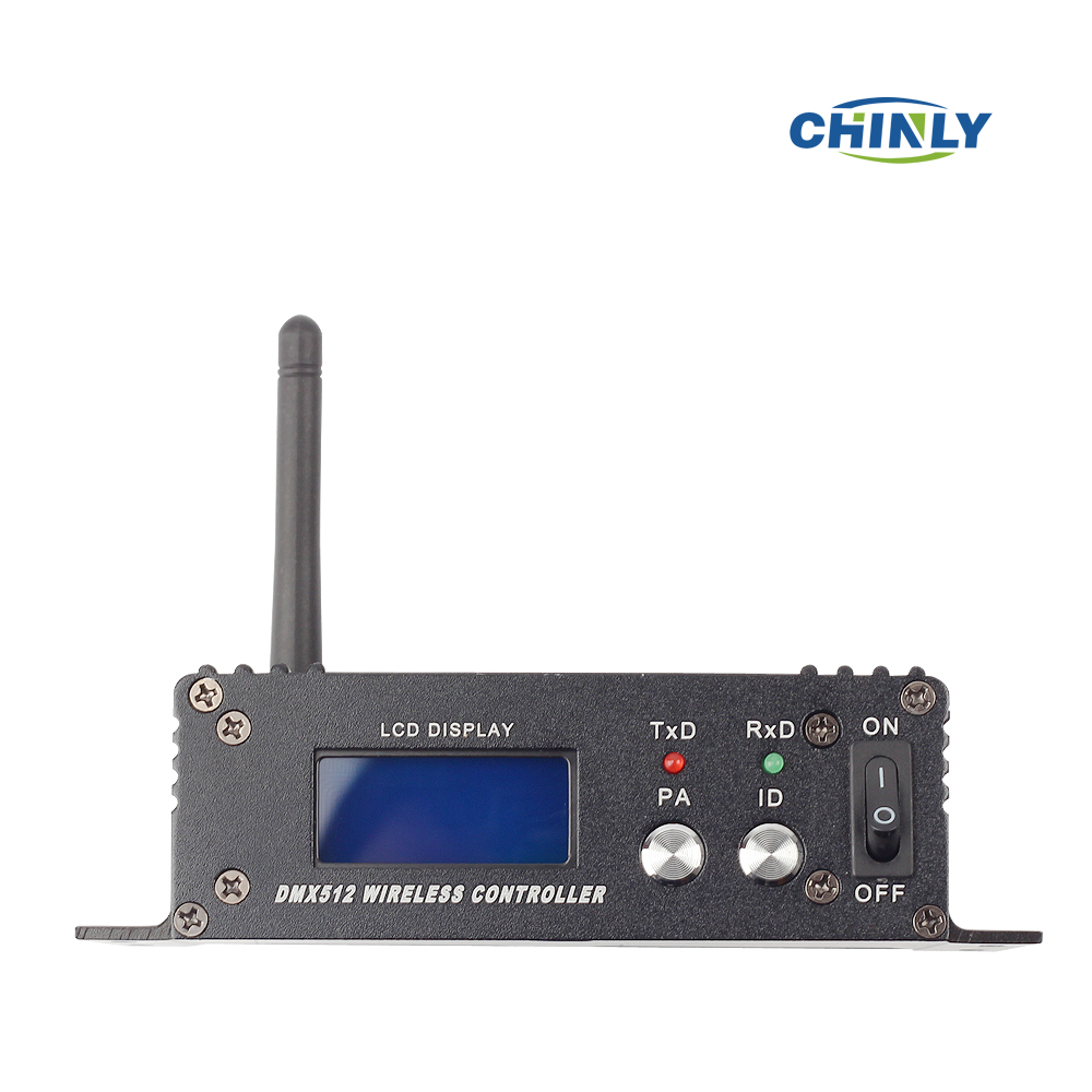 DMX512 Stage Light Use DMX Wireless Transmitter Receiver LED Display for DMX 512 Controller Console Stage to Stage Light<br>