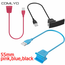 Fast Charging 55mm USB Clip Design Chargers for Fitbit Alta HR charger Band Wristband Bracelet High Quality wholesale
