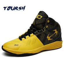 TOURSH Original 2017 Students Basketball Shoes Men Outdoor Sports Shoes Lace-Up Professional Basketball Shoes Zapatillas Hombres