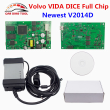 2017 For Volvo VIDA DICE Full Chip 2014D OBD2 Diagnostic Tool For Volvo Dice Pro Vida Dice Firmware Update VIDA IN ONE Free Ship(China)
