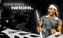 "Rafael Nadal Tennis star Silk Cloth Poster 40""x24"" 21""x13"" --044(China)"
