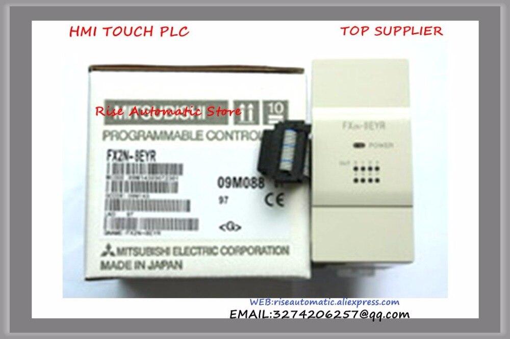 PLC 24VDC Extension Unit 4 DI 4 DO Relay Modular FX2N-8ER New Original<br>