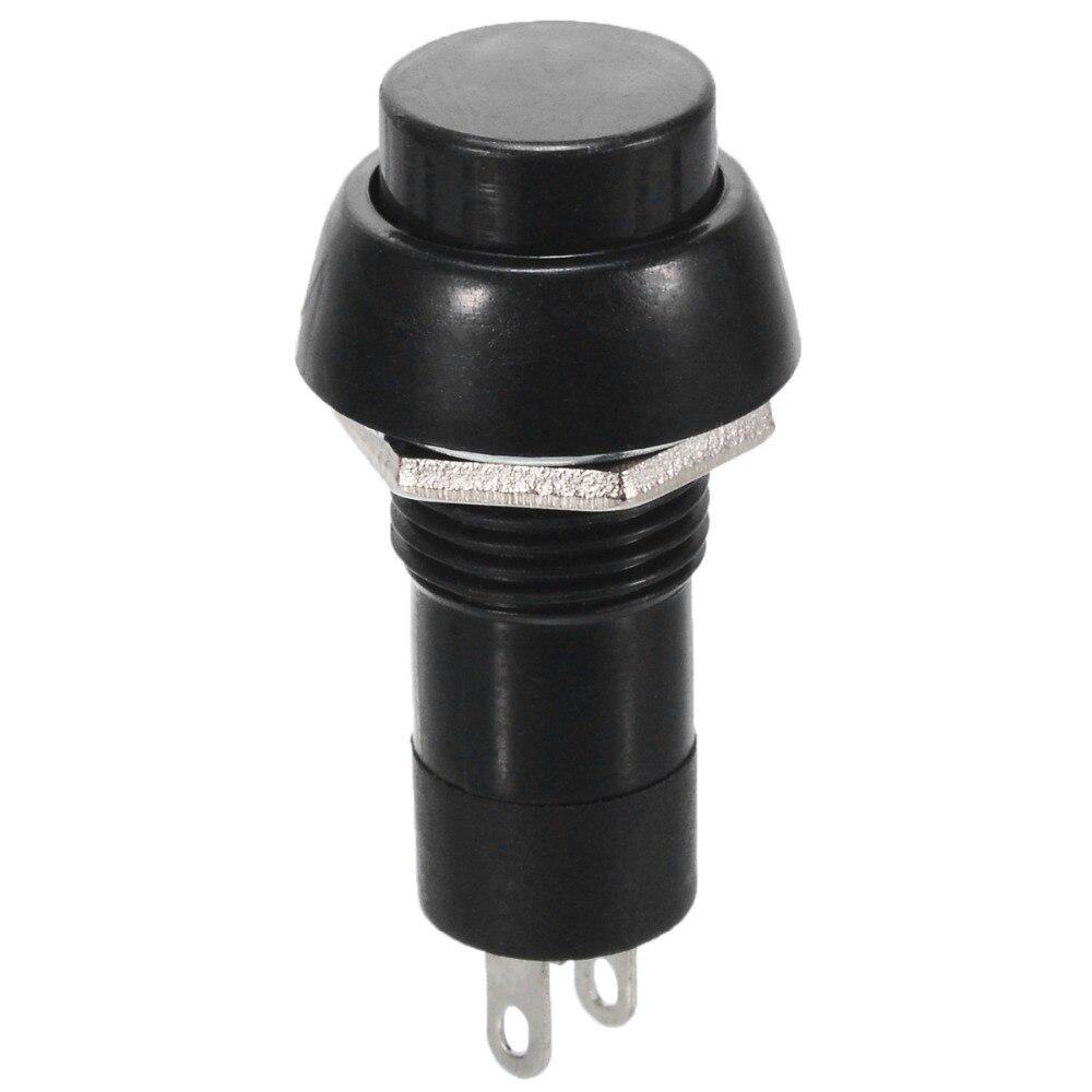 5 X rojo de encendido//apagado de traba con interruptor de botón de bloqueo el salpicadero del coche DASH Barco 12v