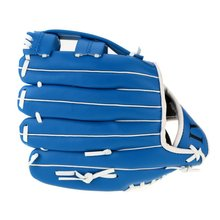 "Wholesale! 12.5 ""Soft ball Baseball Glove Outdoor Team Sport Left Hand Blue(China)"