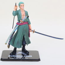 15cm One Piece figure zoro PVC action figure toys model doll