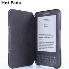 Hot Pada kindle 3 3rd generation cover case+screen protector
