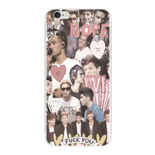 5 SECOND OF SUMMER ONE DIRECTION ART COLLAGE cover Plastic case For Samsung s7 s6 edge s5 s4 s3 iphone 5 5S SE 5C 4S 6 6S 7 Plus(China)