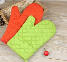 baking tools small thickened heat resistant insulation gloves oven microwave oven anti ironing gloves 1 only  WYQ