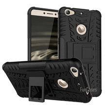 For Letv Le 1S X500 Case 5.5inch Hybrid Kickstand Dazzle Rugged Rubber Armor Hard PC+TPU Stand Function Cover Cases(China)