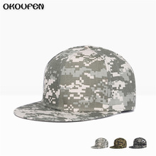 2017 Snapback Camouflage Tactical Hat Army Tactical Baseball Cap Unisex Desert Cobra Camo Camouflage Hats MZ6(China)