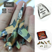 Plastic America F-105 Bomber Mini reconnaissance aircraft Airplane Model Set Kids Military toy World War 2 fighter kids toys(China)