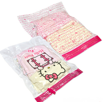 3 Sizes Kawaii Hello Kitty PE Travel Space Save Clothing Vacuum Bag Vacuum Compressed Bag Organizador
