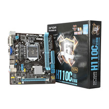 Onda H110C Motherboard Mainboard Systemboard for Intel H110/LGA 1151 mATX SATA USB 3.0 DDR4 Dual Channel for Desktop Computer(China)