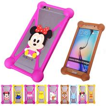 Minions Anti knock TPU Silicone Cell Phones Cases For BLU Vivo 5 Rubber Minnie Garfield 3D Case Cover For BLU Life One X