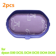 2pcs Vacuum Cleaner Parts HEPA Filter for Replacement dyson D30 DC31 DC34 DC35 DC44 DC45(China)