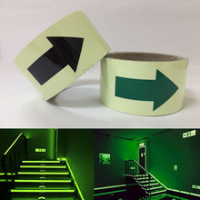 50mmX3m glow in the dark tape lasting 4 hours Luminous film for safety(China)