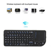 Mini X1 2.4G Wireless Mini USB Keyboard With Touchpad For PC Smart TV