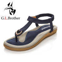 G.L.Brother Sandals Women Sandalia Feminina Summer Shoes Sandalias Mujer Women Sandals Sandale Femme Women'S Sandals Ladies Flat