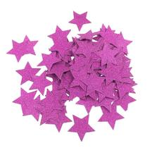 500pcs 3cm Purple Stars Paper For Wedding Bridal Party Throwing Confetti Baby Shower Table Decoration Scatter Sprinkles(China)
