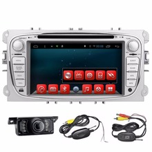 2 Din 7 Inch In Dash Android Car DVD Player For Ford/Mondeo/Focus With Dual Core Wifi GPS Navigation Radio FM