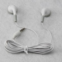 Wholesale 3000PCS/lot headphones headset 3.5mm gift earphones for mp3 mp4 CD IPHONE 3 4 5 6 7 SHIPPING