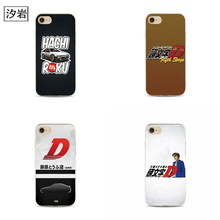 initial d anime phone clear covers for iPhone 6 7 plus 4 4s 5 5s 5c se 6s for apple deja vu anime black case