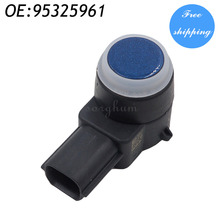 PDC Parking Distance Control Sensor For GM 95325961 0263023560 Blue(China)