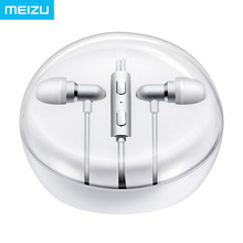Original Meizu Earphone EP31 In Ear Aluminium Alloy EP 31 HIFI Headset for MX5 Pro5 Pro6 Phones with Mic Bass High Quality