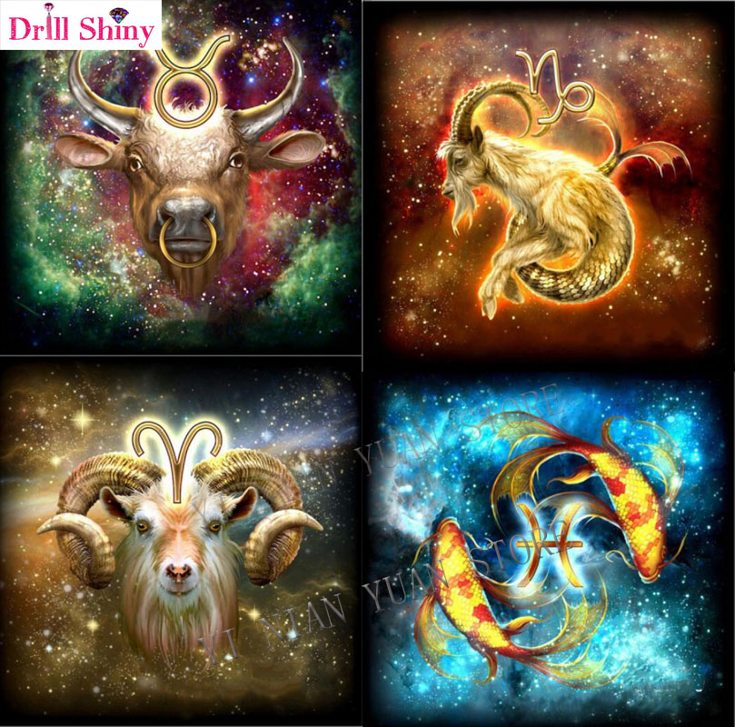 Constellations 5D DIY Diamond Painting Cross Stitch Embroidery Needlework Decor