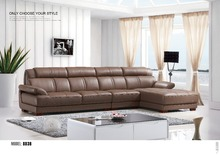 Leather sofa Office or living room sofa Couch tall back sofa