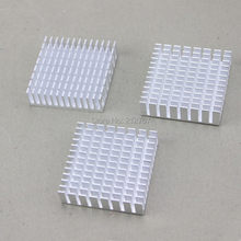 100pcs Aluminum CPU VGA Card Cooling Cooler Heat Sink Memory Chipset Heatsink 40x40x10mm