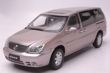 1:18 Diecast Model for Buick GL8 Gold MPV Alloy Toy Car Collection Gifts(China)