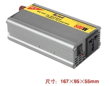 500W Power Inverter 12V DC to 220V AC Converter AC Adapter Power Supply USB Frequency Inverter Wholesale Dropshipping