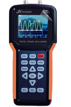JDS2022A TFT screen dual channel 20MHz 200MSa/s handheld USB storage Oscilloscope hand hold 2 channel oscilloscope