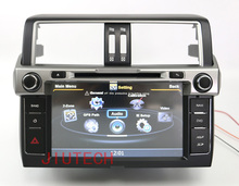 Double Din S100 WINCE 6.0  Car dvd player GPS Navigation Headunit Navigation System for Toyota Land Cruiser Prado 2014+