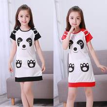 New Listing Children Clothing Summer Dresses Girls Baby Pajamas Cotton Princess Nightgown Kids Home Wear Girl Sleepwear