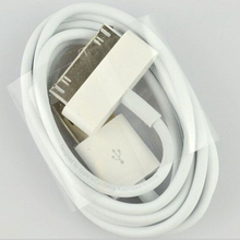 WEMECOFA 1M 3ft High quality 30 pin USB Charger Sync Data Cable for iPad2 3 for iPhone  4 4S 3G for iPod for Nano for Touch