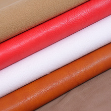 free shipping 1.3mm thick embossed PU leather/ leather fabric for sofa upholstery fabric for furniture/ imitation leather fabric(China)