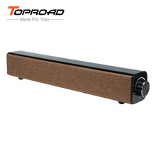 TOPROAD 20W Bluetooth Speaker Hifi Deep Bass Stereo Wireless Soundbar caixa de som with MIC altavoz for iPhone Sumsung Huawei PC(China)